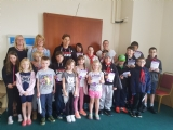 Johnstown Scout group & friends who helped deliver Befriending leaflets in Rhos